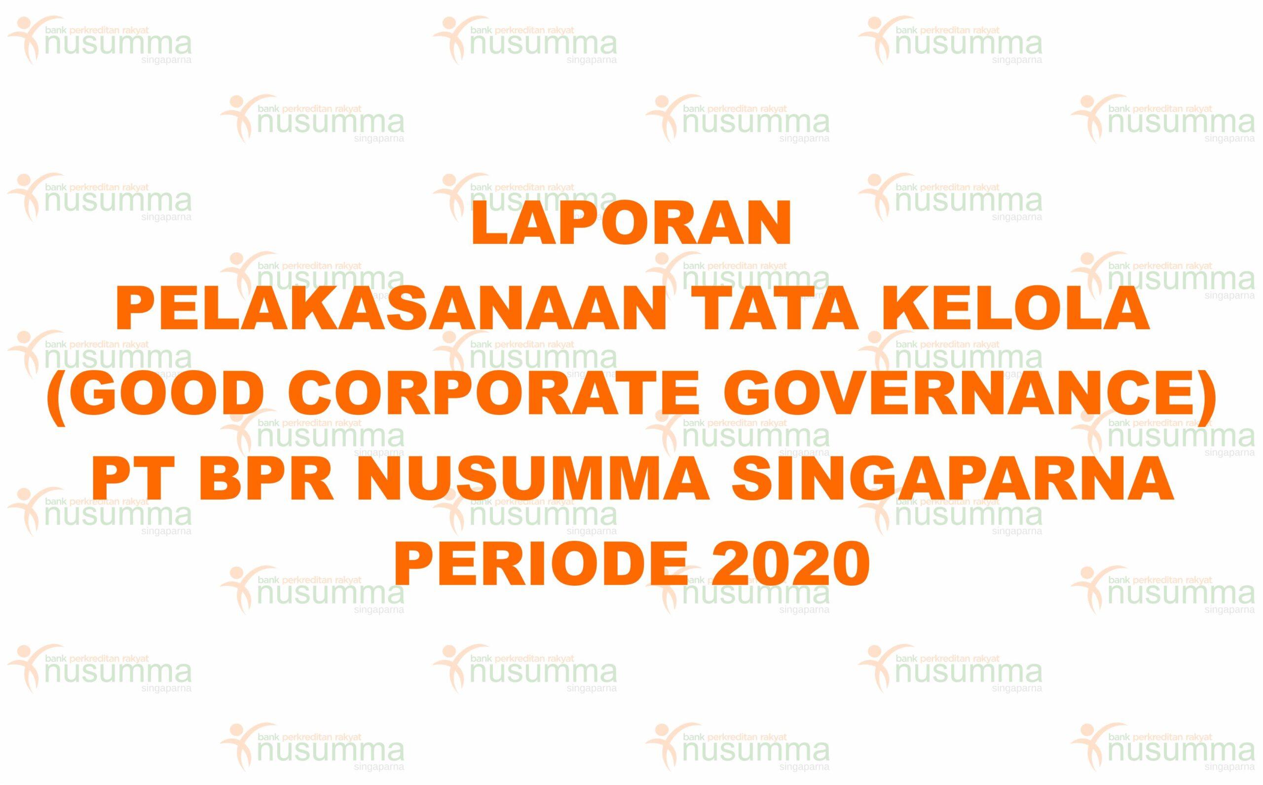 laporan gsg 2020